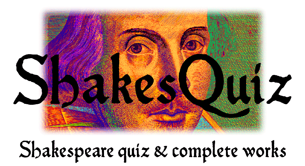 ShakesQuiz image, title text and subtitle text